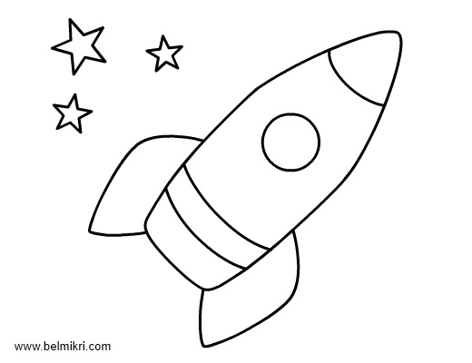Rocket coloring #19, Download drawings