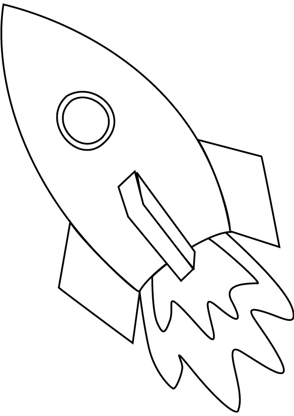 Rocket coloring #8, Download drawings