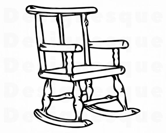 rocking chair svg #840, Download drawings