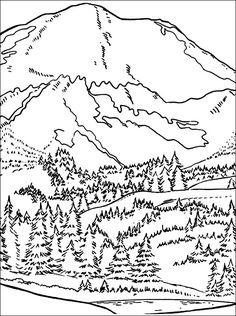 Pandora Mountains coloring #17, Download drawings