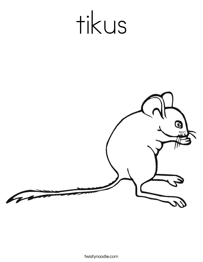 Rodent coloring #7, Download drawings