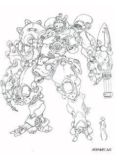 Ro-Kashh coloring #8, Download drawings