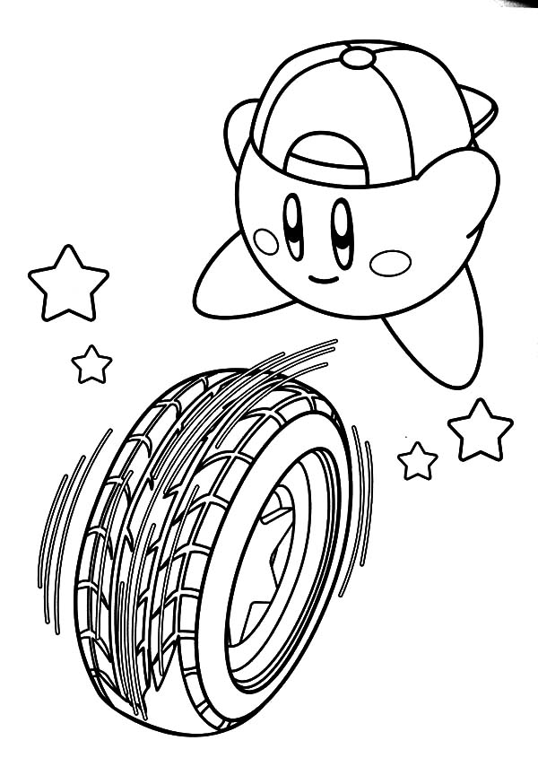 Tire coloring #8, Download drawings