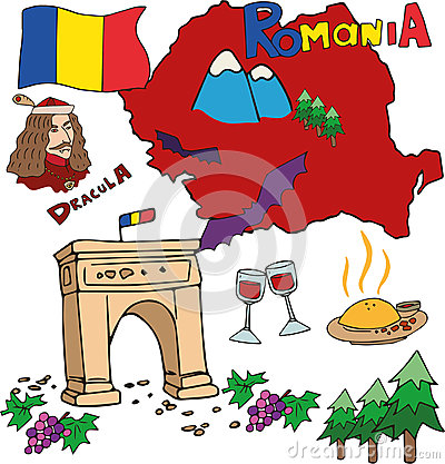 Romania clipart #2, Download drawings