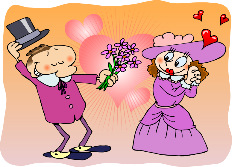 Romantic clipart #9, Download drawings