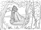 Romeo And Juliet coloring #11, Download drawings