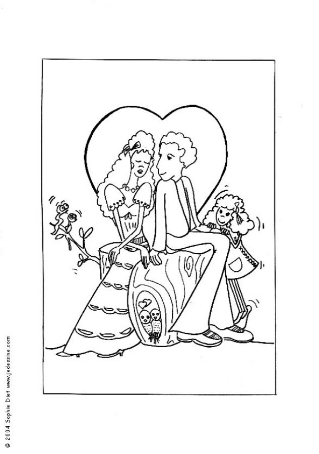 Romeo And Juliet coloring #16, Download drawings