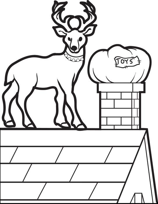 Roof coloring #19, Download drawings