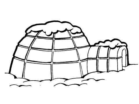 Roof coloring #6, Download drawings