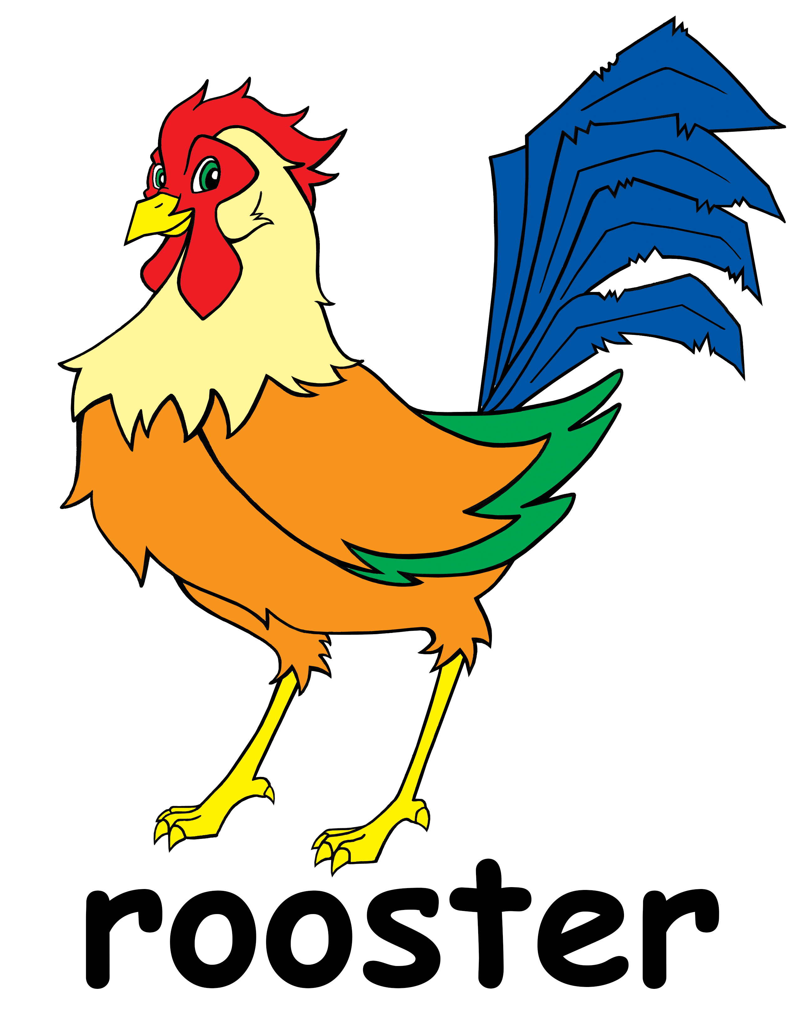 Rooster clipart #5, Download drawings