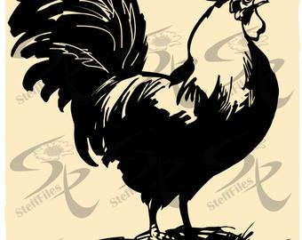 Rooster svg #422, Download drawings