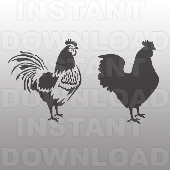 Rooster svg #5, Download drawings