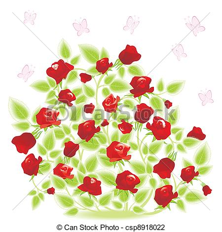 Rose Bush clipart #20, Download drawings