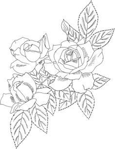 Rose Bush coloring #8, Download drawings