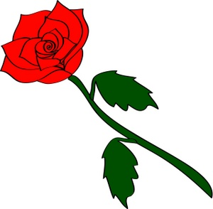 Rose clipart #6, Download drawings