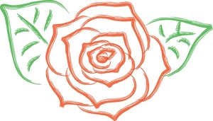Rose clipart #8, Download drawings