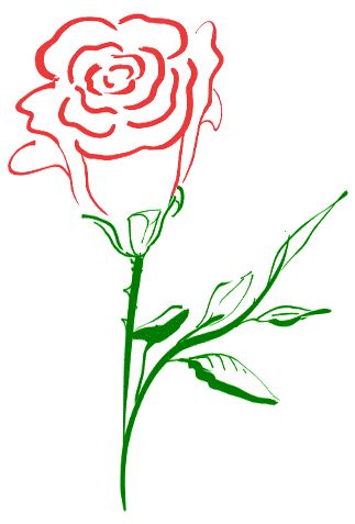 Rose clipart #13, Download drawings