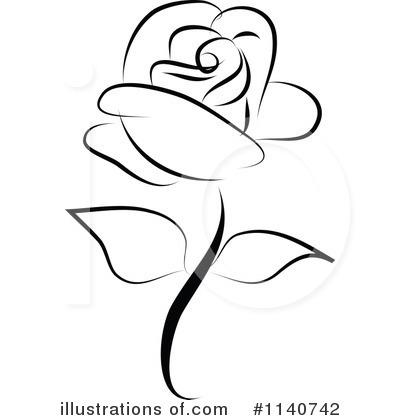 Rose clipart #2, Download drawings