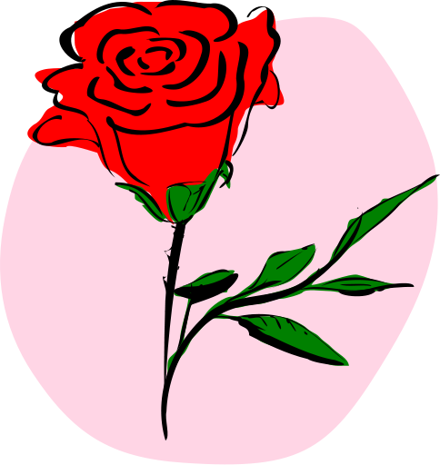 Rose clipart #19, Download drawings