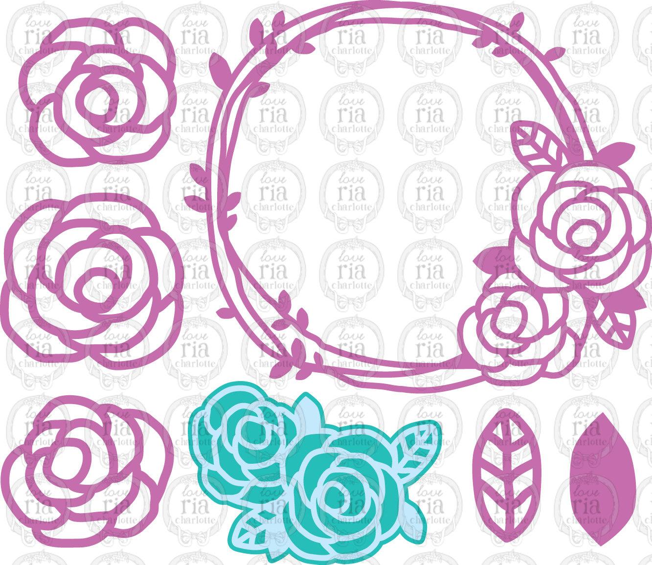 Rose svg #5, Download drawings