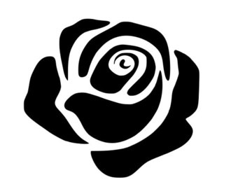 White Rose svg #16, Download drawings