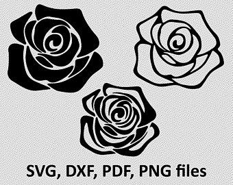 rose svg free #574, Download drawings