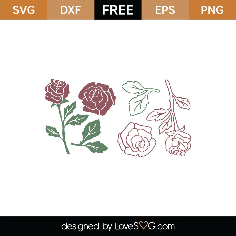 rose svg free #568, Download drawings