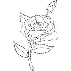 Rosebud coloring #3, Download drawings