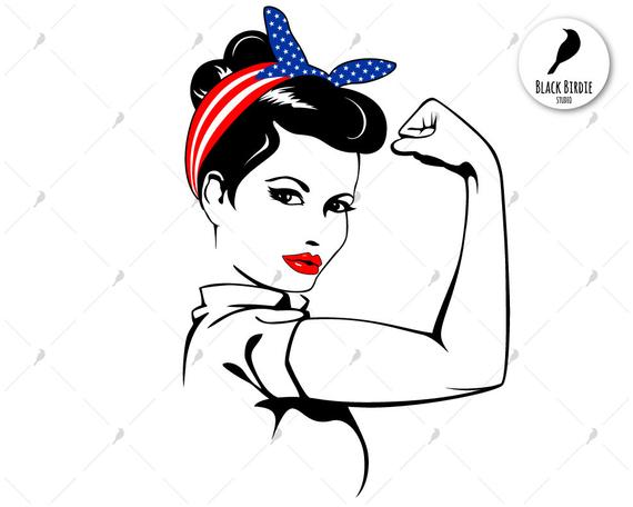 rosie riveter svg #766, Download drawings