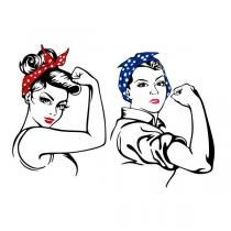 rosie riveter svg #763, Download drawings