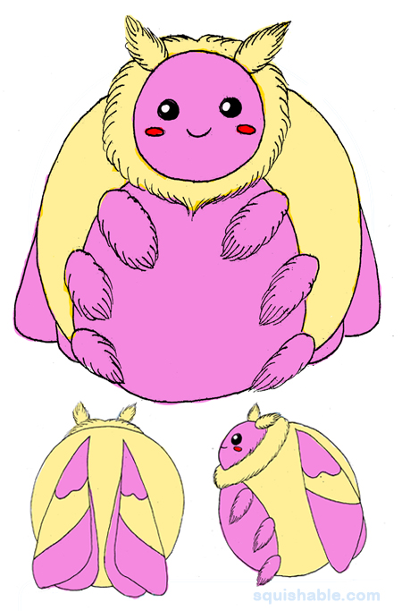 Rosy Maple Moth clipart #7, Download drawings