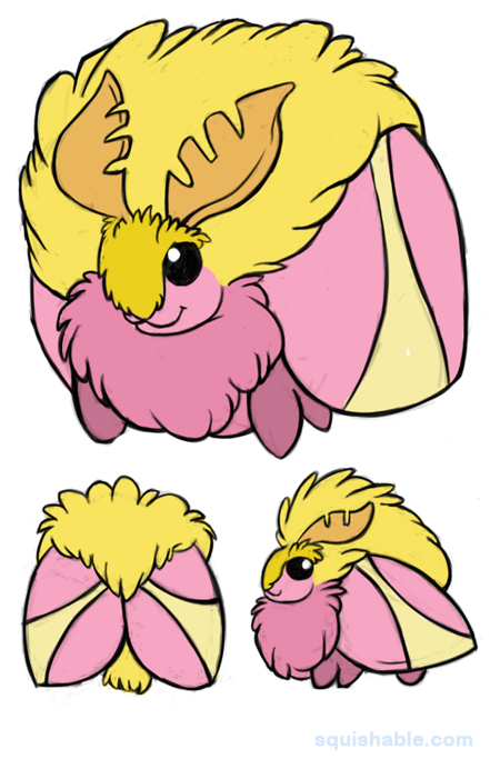 Rosy Maple Moth clipart #4, Download drawings