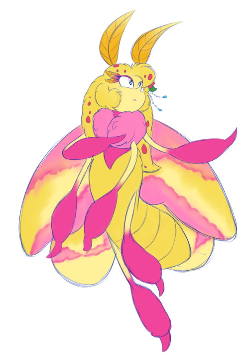Rosy Maple Moth clipart #14, Download drawings