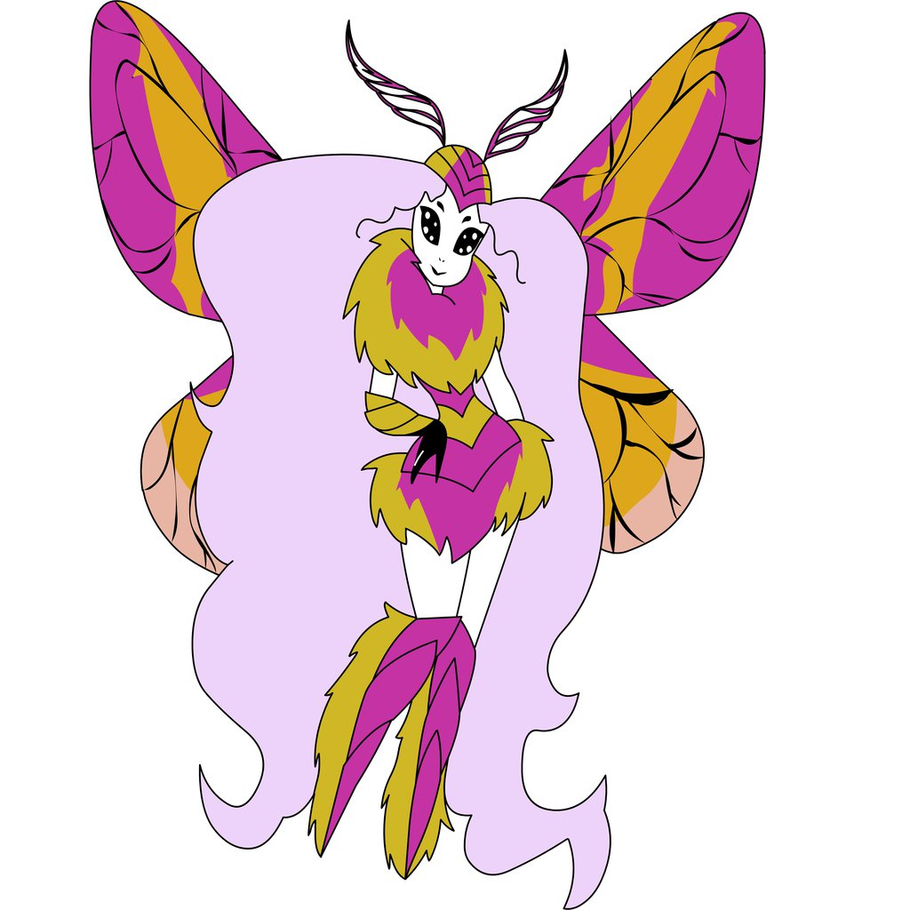 Rosy Maple Moth clipart #6, Download drawings