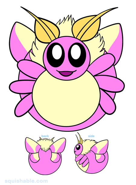 Rosy Maple Moth clipart #8, Download drawings