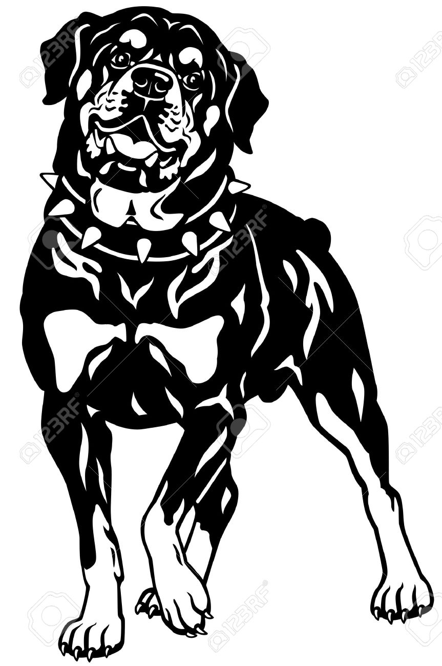 Rottweiler clipart #14, Download drawings