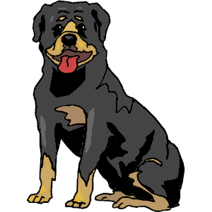 Rottweiler clipart #1, Download drawings