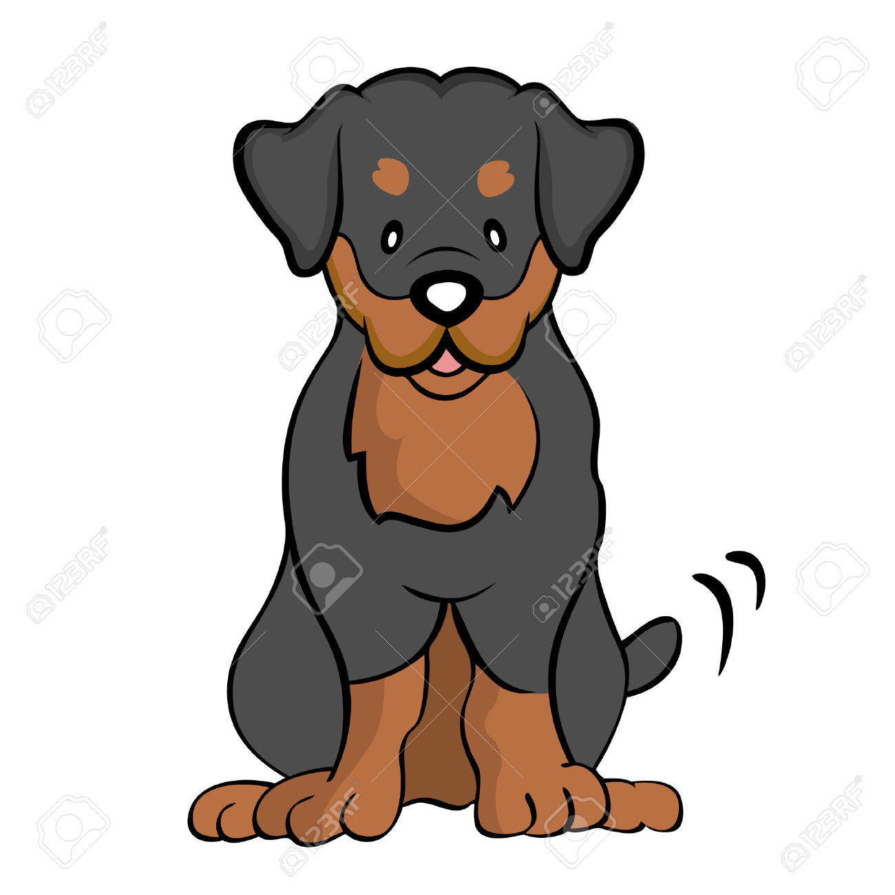 Rottweiler clipart #13, Download drawings