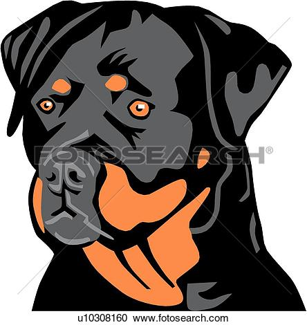 Rottweiler clipart #9, Download drawings
