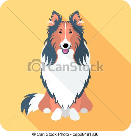 Rough Collie clipart #16, Download drawings
