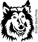 Rough Collie clipart #15, Download drawings