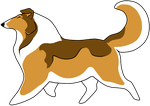 Rough Collie clipart #9, Download drawings