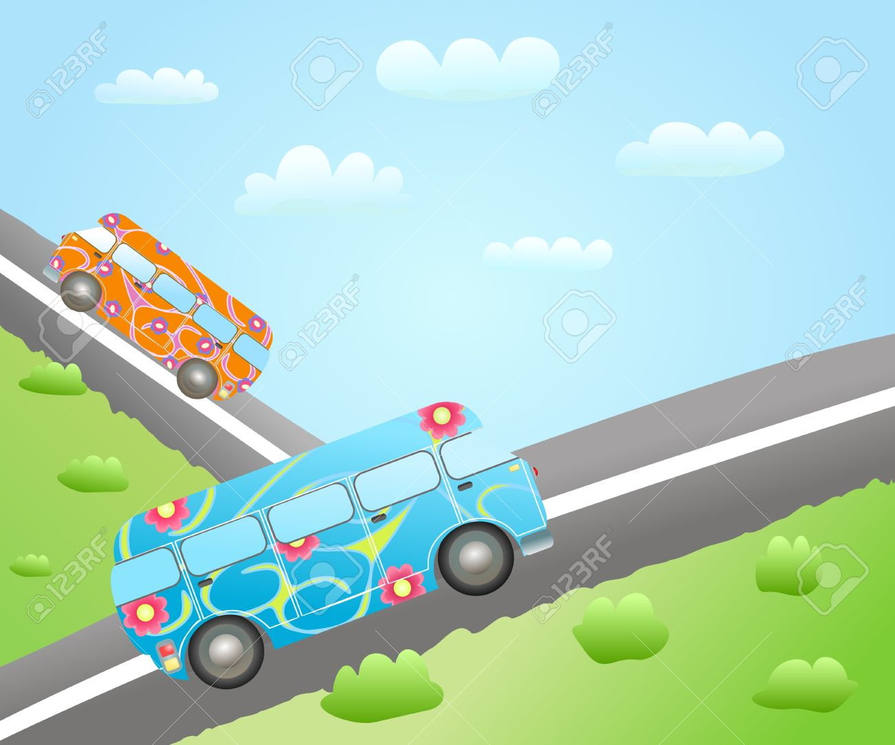 Routes clipart #9, Download drawings