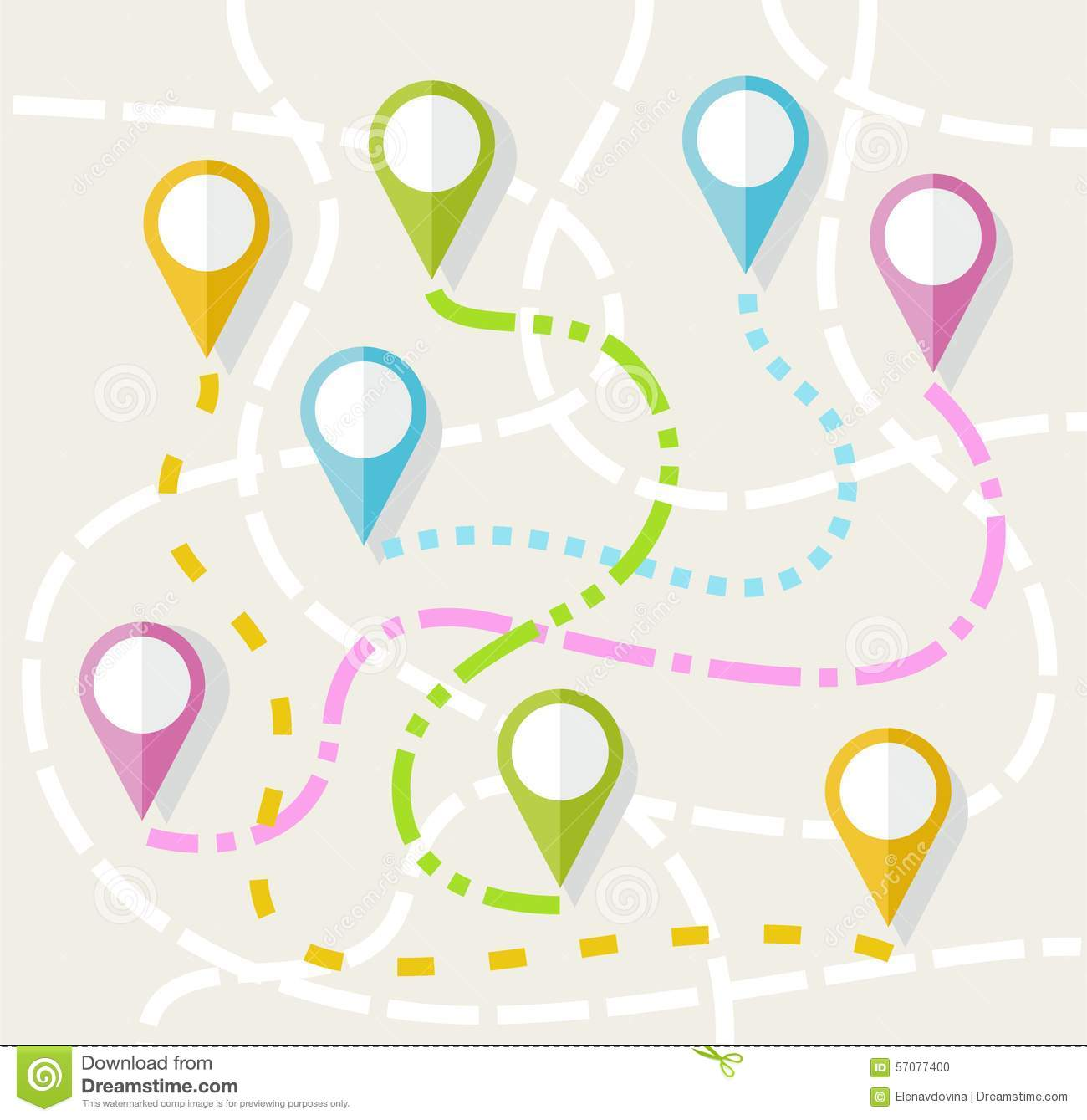 Routes clipart #13, Download drawings