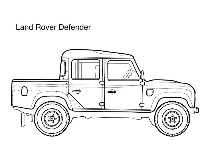 Rover coloring #14, Download drawings