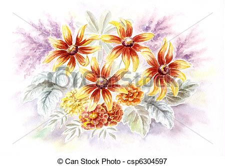 Rudbeckia clipart #4, Download drawings