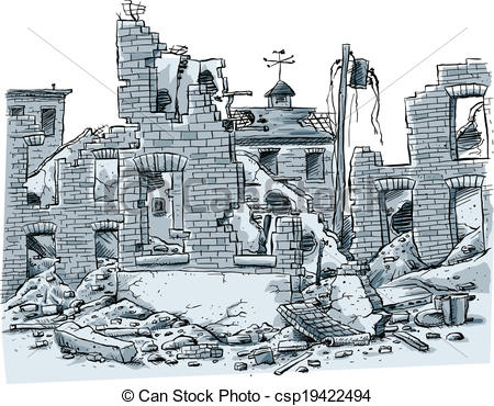 Ruin clipart #2, Download drawings