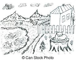 Rural clipart #8, Download drawings
