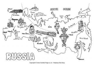 Russia coloring #20, Download drawings