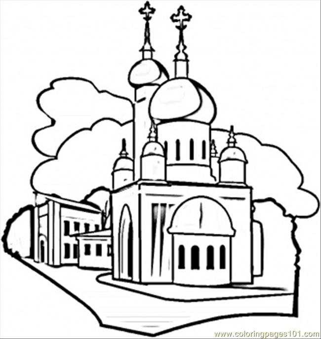 Russia coloring #9, Download drawings